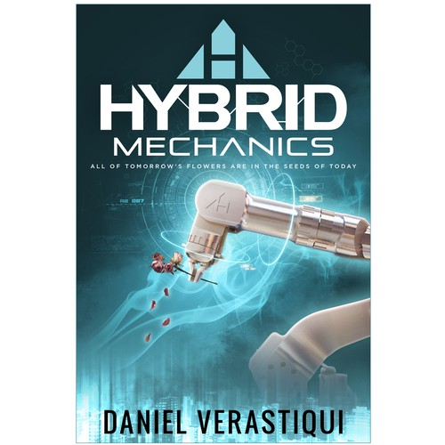"""Hybrid Mechanics"" Book Cover Design"