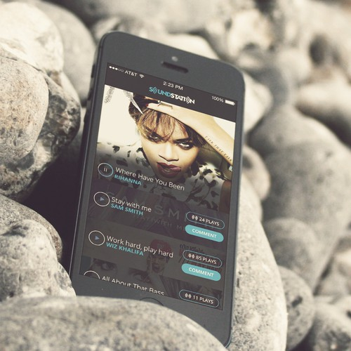 Fun, Cool and Social! - Music App Redesign