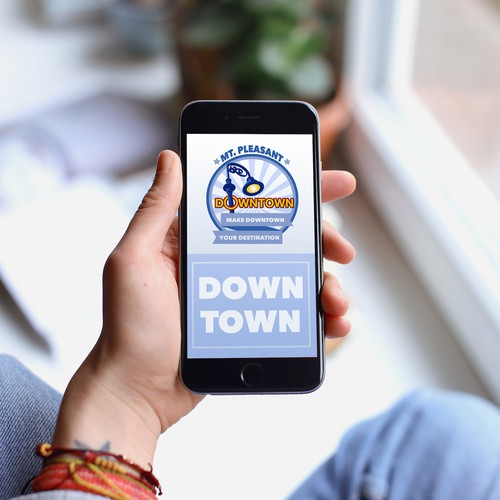 Social Media Visualization for Downtown Mt. Pleasant