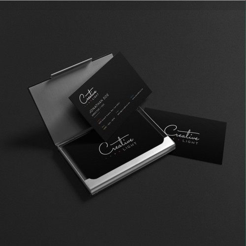 Logo & Branding Identity Design for Creative Light