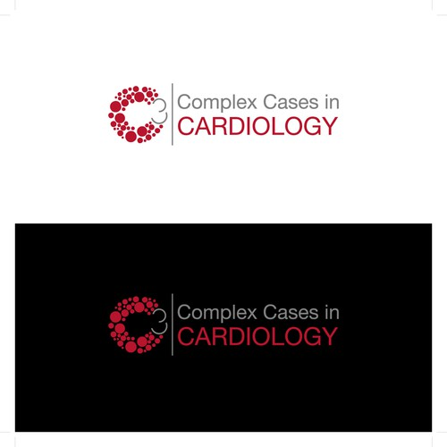 Creative logo for a conference in cardiology