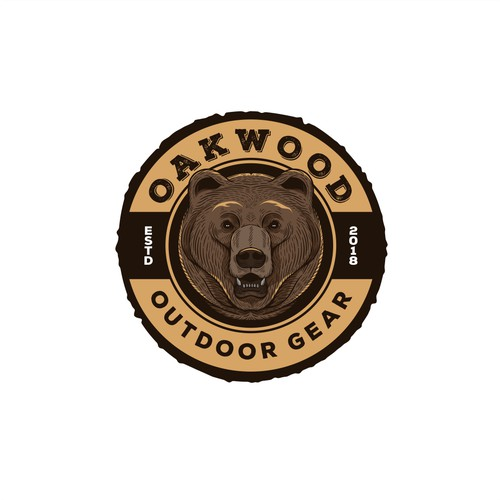 Bear Logo Badge