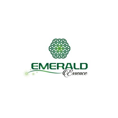 Logo for Emerald Essence