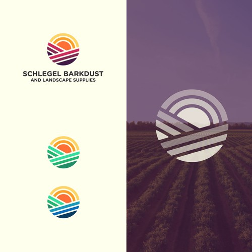 Logo design for a landscape supplie brand