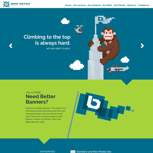 Better Banners Web Design