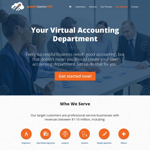 Create Cutting-Edge Consulting Business Website