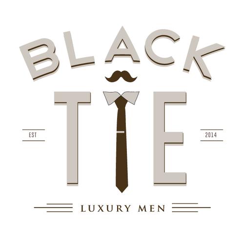 logo for luxury men's grooming brand