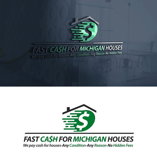 Simple logo for real estate