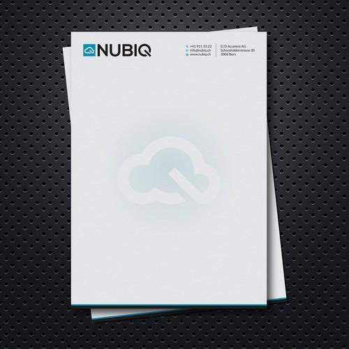 Cloud NUBIQ – Whitepaper and Invoice/Letterhead Design