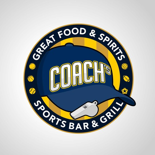 Logo for Sports Bar & Grill