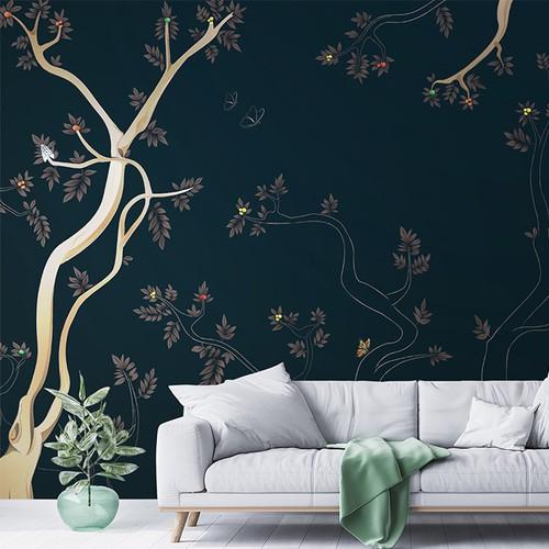 Jungle Theme Wallpaper Design