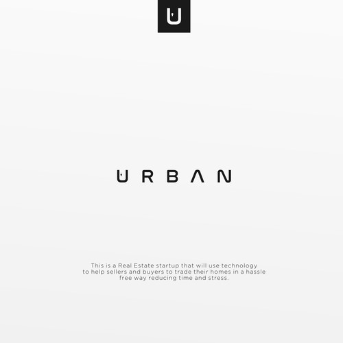 Urban logo concept for Real Estate & Mortgage
