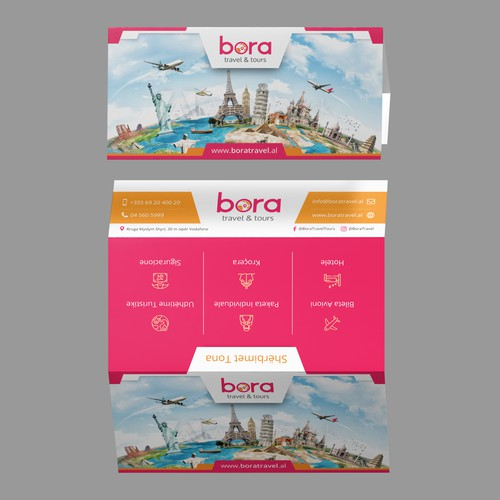 Brochure for Bora Travel & Tours