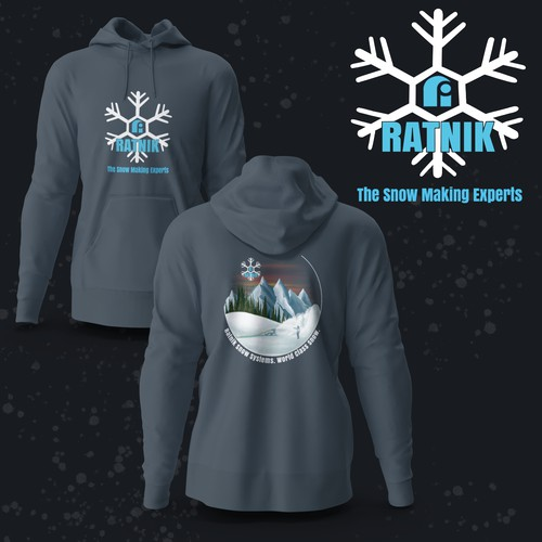 Snowmaking Swag Hoodie Design 🌨