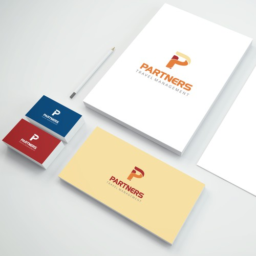 Bold logo for a new start-up corporate travel agency.