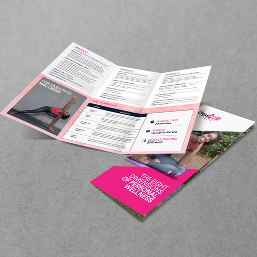 Miss.Fit Fitness (Brochure Design)