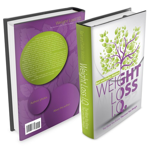Design a creative and simple cover for weight loss book