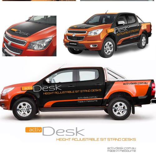 Car Wrap for ActivDesk
