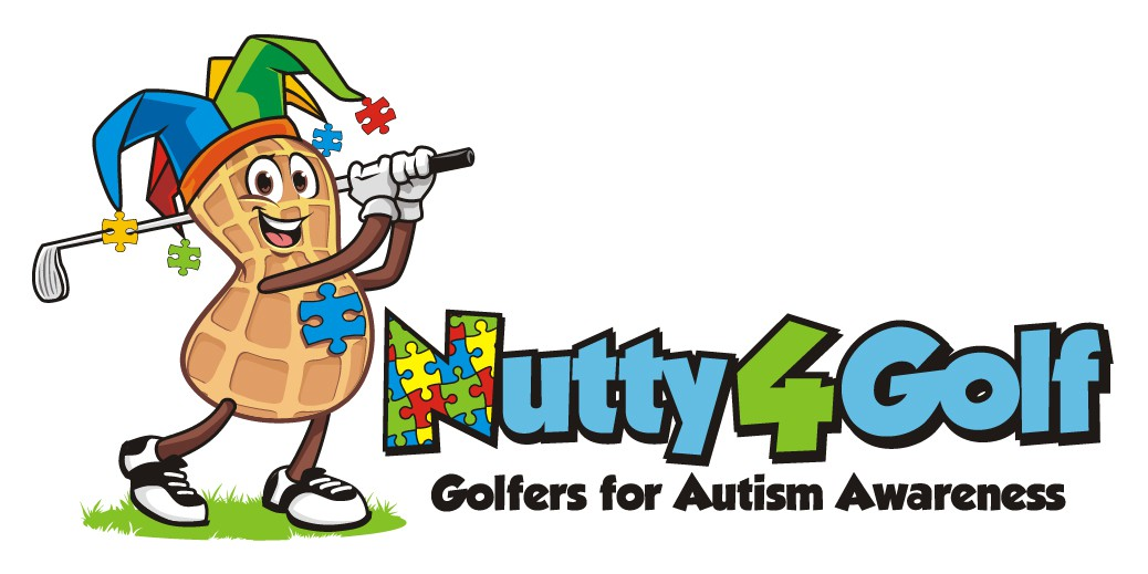Golfers for Autism Awareness... The giving back logo!!!