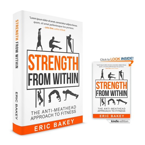 STRENGTH FROM WITHIN BOOK COVER