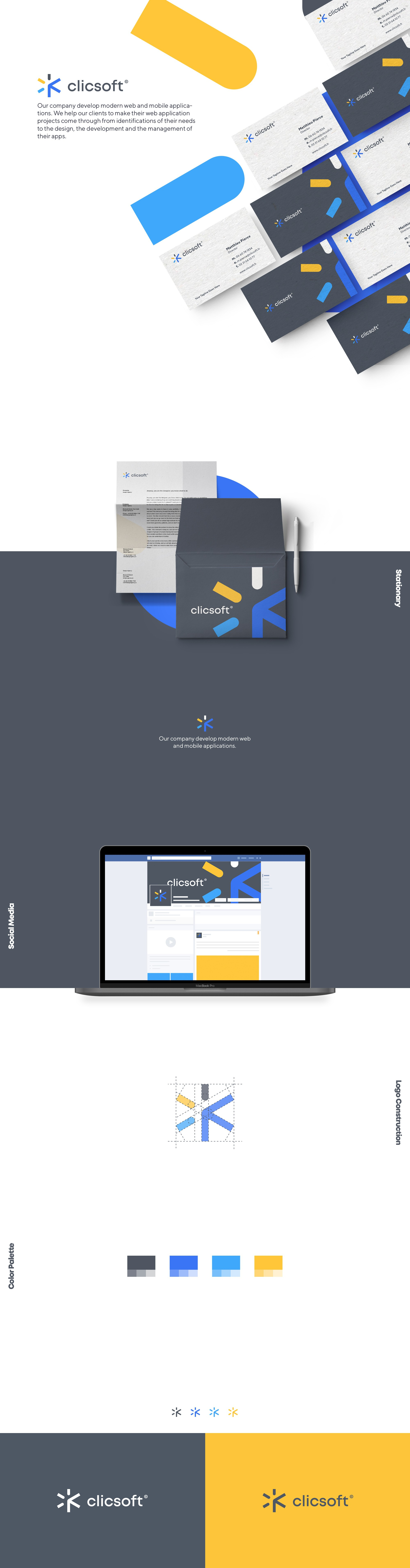 Create a stylish and elegant logo for a web agency specialized in Web Apps development