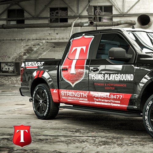 Tysons Playground Truck Wrap
