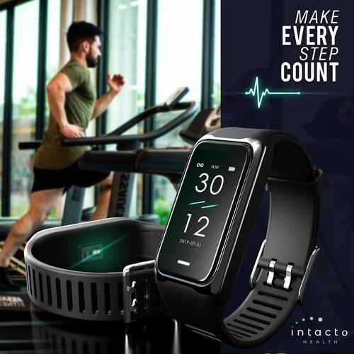 3d Rendering of Fitness Tracker
