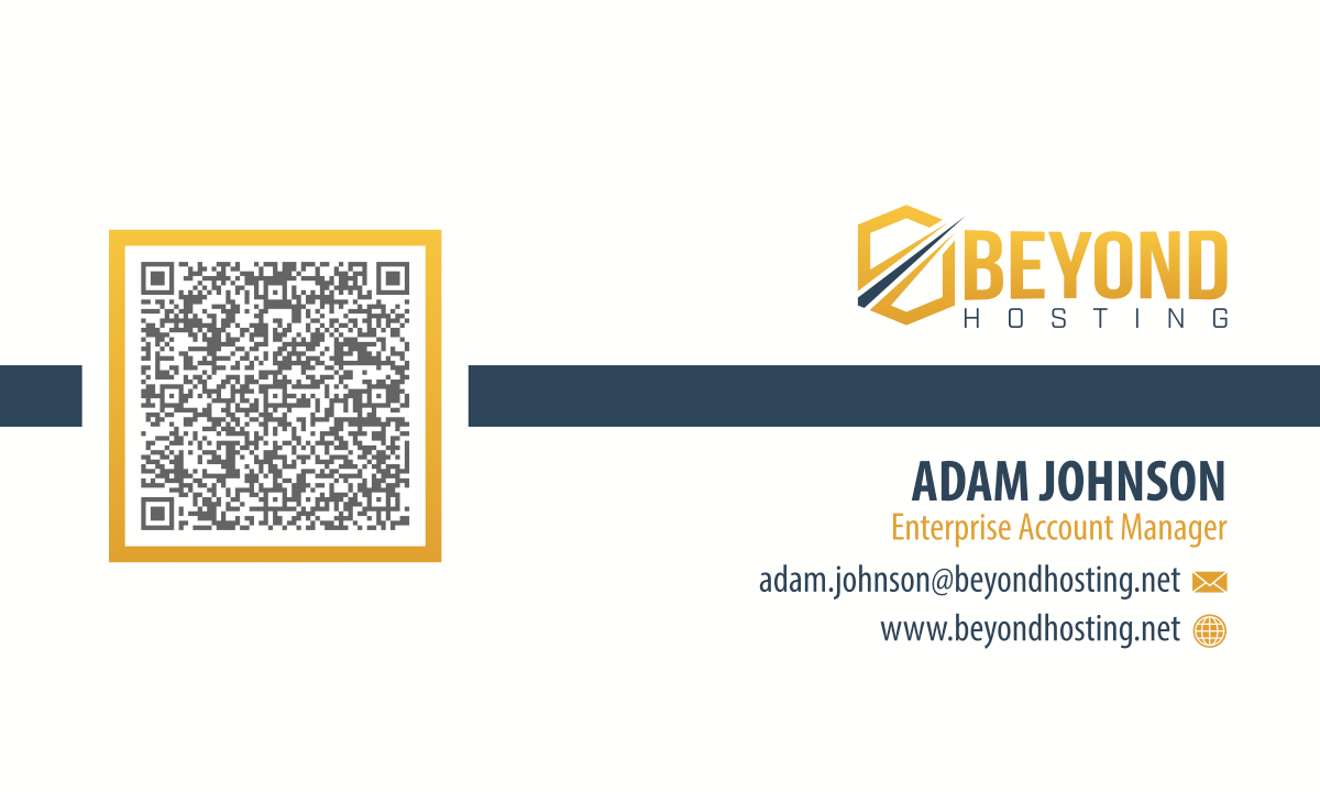 Beyond Hosting Business Card