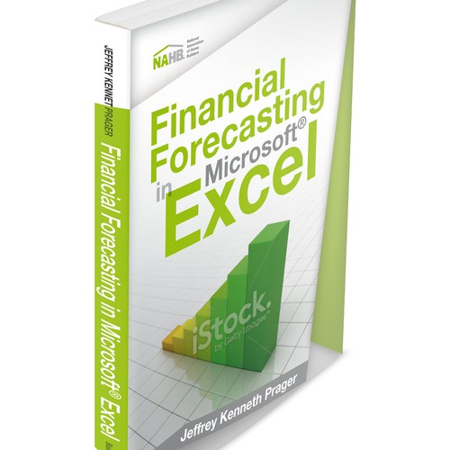 Design an engaging financial forecasting book cover