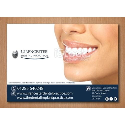 Dental postcard