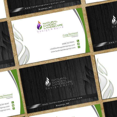 Business card / letterhead for Gardening Company