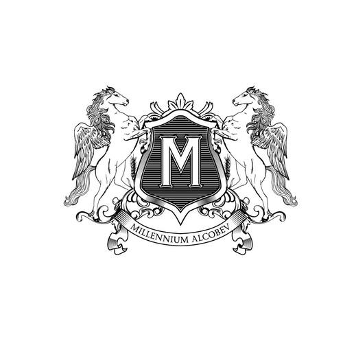 Logo for alcohlo company