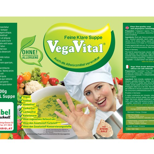 Vega Vital - Feine Klare Suppe