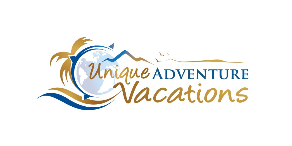 "Logo design for ""Unique Adventure Vacations"""