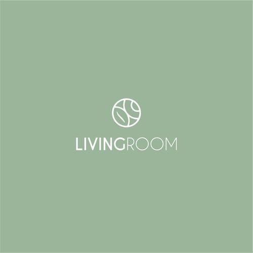 living room coffee shop logo
