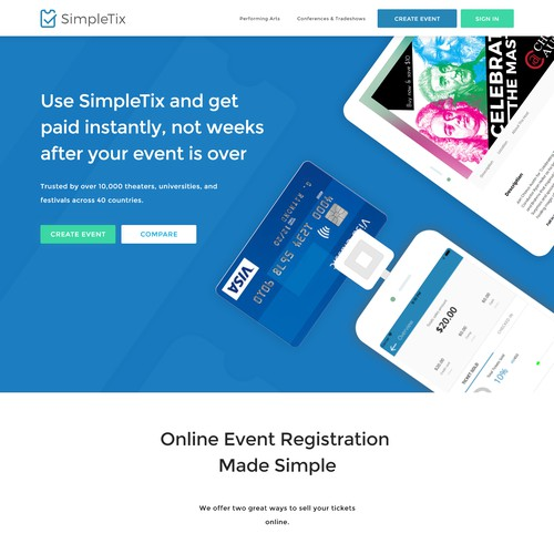 Simpletix needs a fresh look