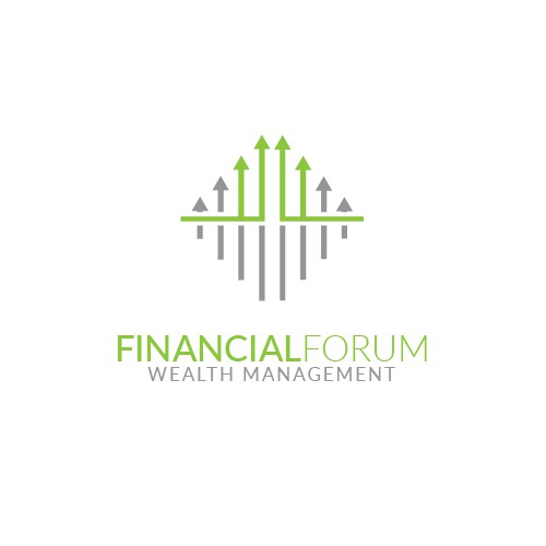 Clever logo concept for Financial Forum.