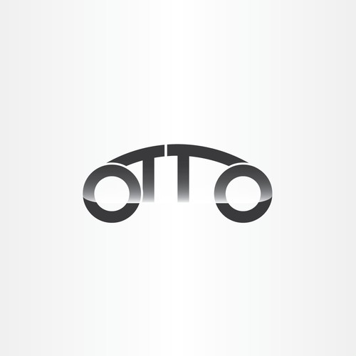 Tron inspired logo for OTTO