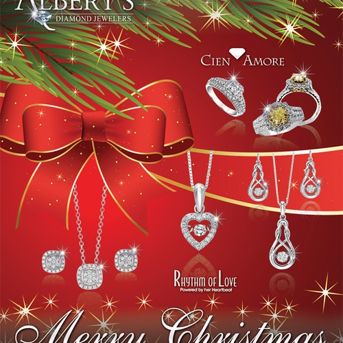 Merry Christmas Jewelry Catalog Cover