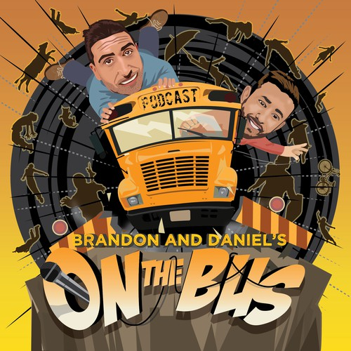 On The Bus Podcast Logo