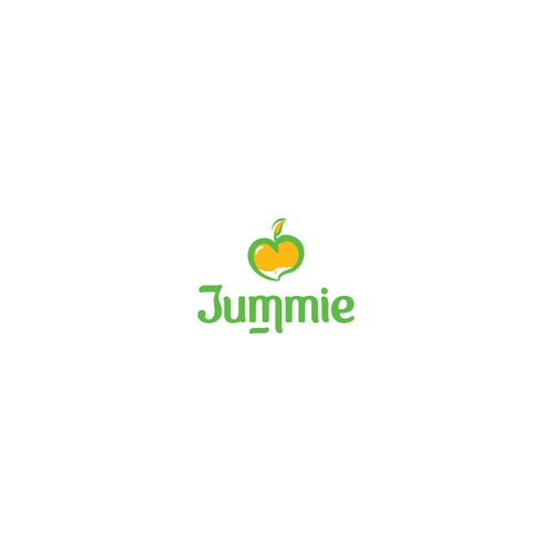 Fun Playful Juice Logo Design