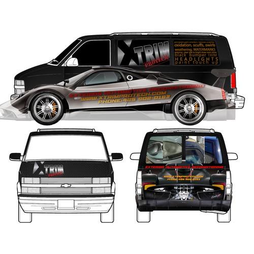 van vinyl wrap