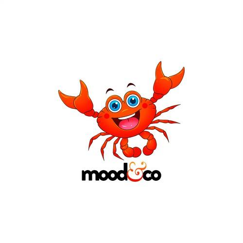 Mood & Co Crab Mascot 1