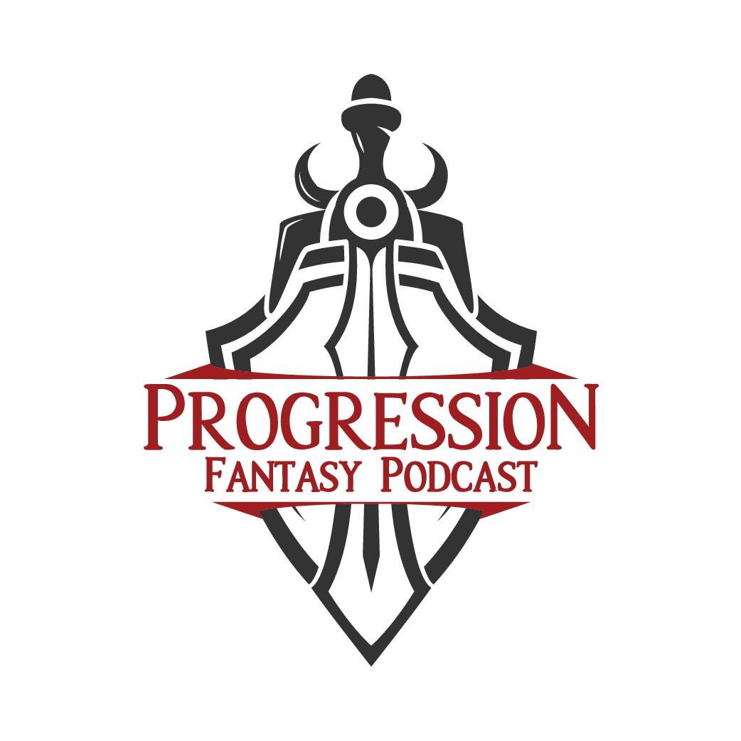 Progression Fantasy Podcast Design Logo