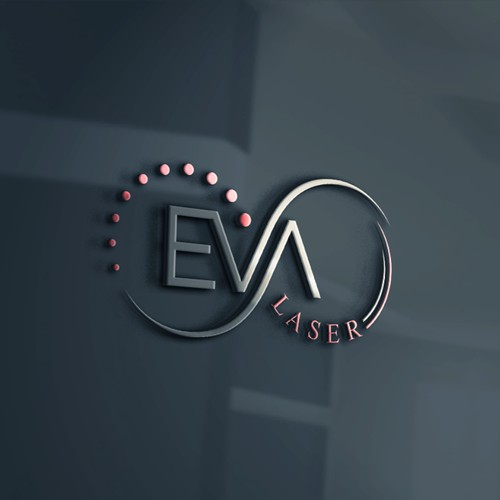 Logo design for EVA LASER