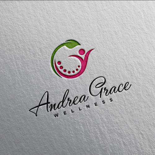 Sleek logo concept for Andrea Grace Wellness