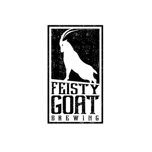"""Logo design for Brewing Company """"Feisty Goat"""""""