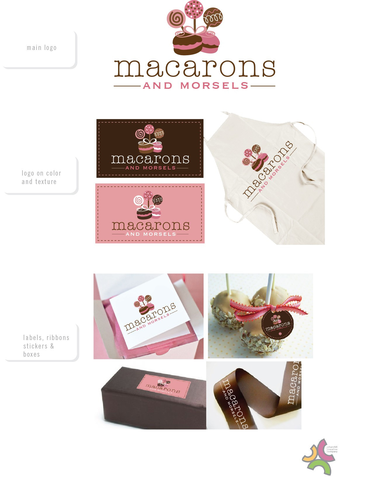 New logo wanted for Macarons and Morsels