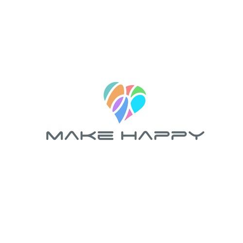 «Make Happy» logo