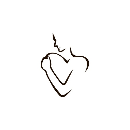 Minimalistic tattoo: Love and accept yourself.
